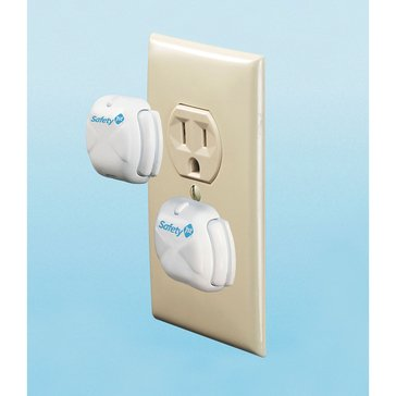 Safety 1st Delux Press Fit Outlet Plugs 8 Pack
