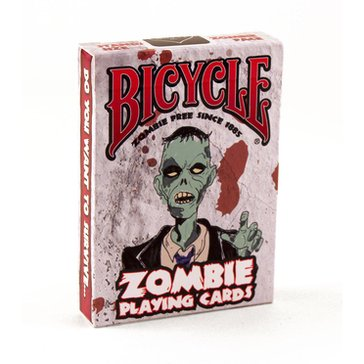 (USPC)  BICYCLE ZOMBIE PLAYING CARDS_D