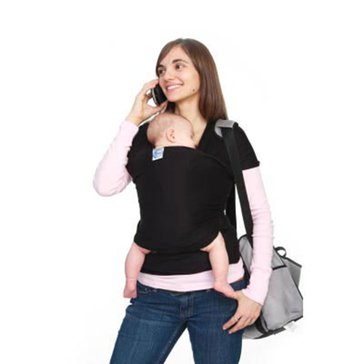 Moby Wrap Baby Carrier, Black
