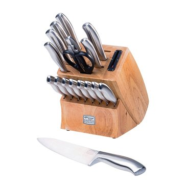 Chicago Cutlery Insignia Stainless Steel 18-Piece Cutlery Block Set