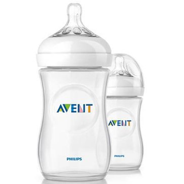 Avent Natural 9oz Bottles, 2-Pack