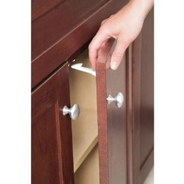 Safety 1st Spring Loaded Cabinet Drawer Latches, 10-Pack