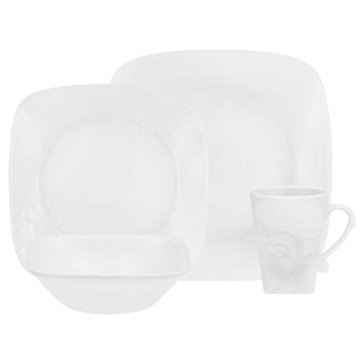 Corelle Cherish Boutique 16-Piece Dinnerware Set