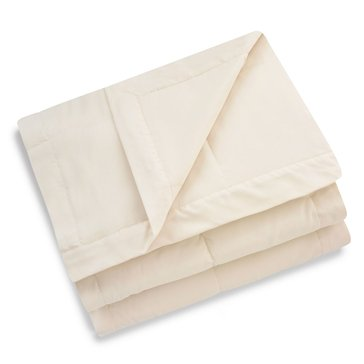 Harbor Home Down Alternative Blanket, Ivory - Full/Queen