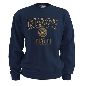 Soffe USN Navy Dad Fleece Crew