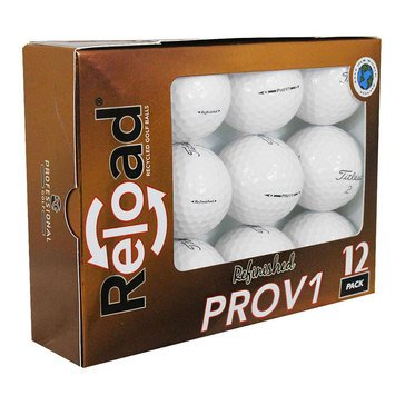 Titleist Prov1 Refinished Golf Balls, 12-Pack