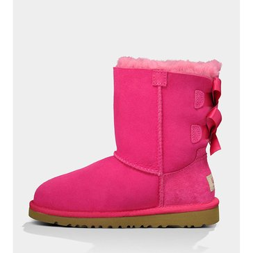 UGG Baily Bow-Girl's Casual Boot-Cerise