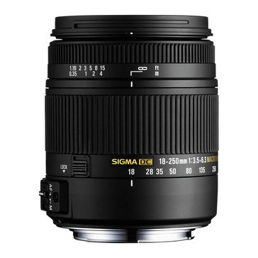 Sigma 883962S0 18-250mm F3.5-6.3 Macro Lens For Sony
