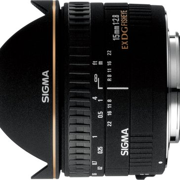 Sigma 476944NA 15mm F2.8 Fisheye Lens For Nikon