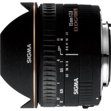 Sigma 476934S0 15mm F2.8 Fisheye Lens For Sony
