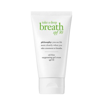Philosophy Take A Deep Breath Oil-free Energizing Oxygen Moisturizer 2oz SPF30