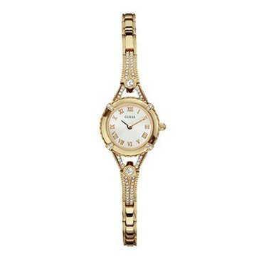 Guess Women's Gold-tone Bracelet Watch 22mm