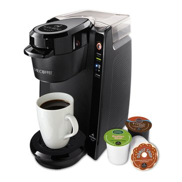Mr. Coffee Single Cup K-Cup Brewing System, Black (BVMC-KG5-001)