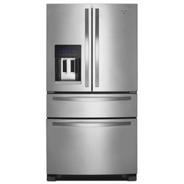 Whirlpool 25-Cu.Ft. French Door Refrigerator w/ External Drawer, Stainless Steel (WRX735SDBM)