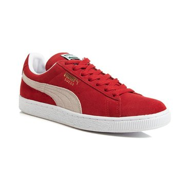 Puma Suede Classic Men's Court Shoe - High Risk Red / White
