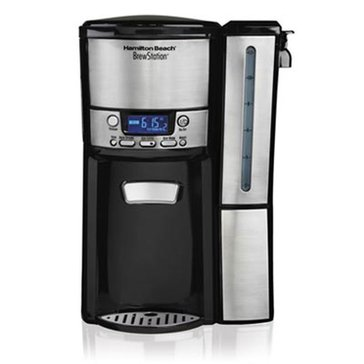 Hamilton Beach BrewStation 12 Cup-Dispensing Coffee Maker w/ Removable Reservoir (47950)