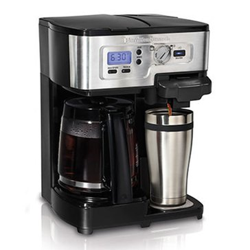 Hamilton Beach Deluxe Two-way Brewer (49983)