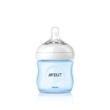 Avent Natural Blue 4oz Bottles, 3-Pack