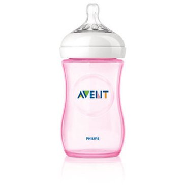 Avent Natural Pink 9oz Bottles, 3-Pack
