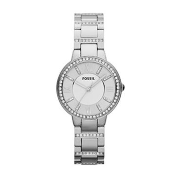 Fossil Women's Stainless Steel Glitz Virginia Watch