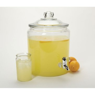 Anchor Hocking 2-Gallon Herie Hill Jar W/ Spigot