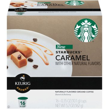 Starbucks Caramel K-Cup Pods, 16-Count
