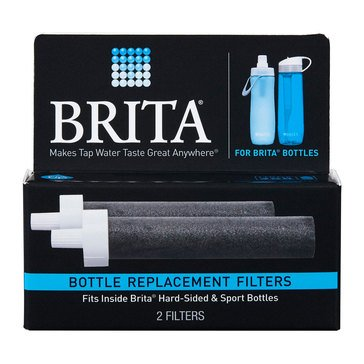 Brita Hard Side Bottle on the Go Filters, 2-Pack (35818)