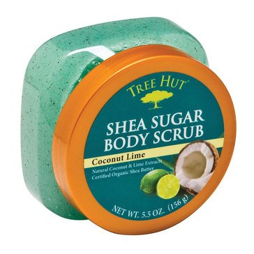 Tree Hut Mini Scrub Coconut Lime 5.5oz