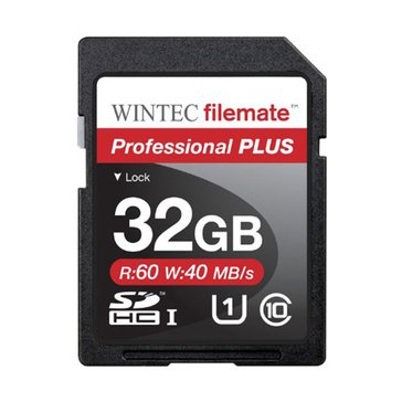 Wintec Filemate 32GB Pro Plus UHS-1 U1 SDHC Card