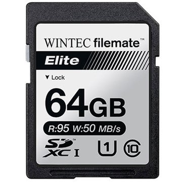 Wintec Filemate Elite 64GB UHS-1 SDXC Card