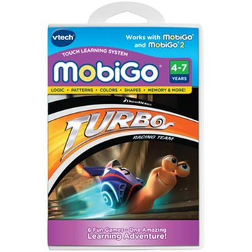 VTech MobiGo Learning Game Cartridge - Disney Turbo