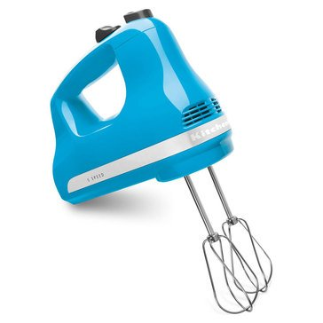 KitchenAid 5-Speed Ultra Power Hand Mixer - Crystal Blue (KHM512CL)