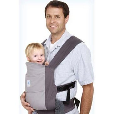 Moby Go Baby Carrier, Gray