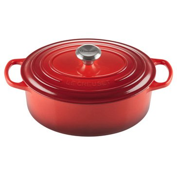 Le Creuset 5-Quart Signature Oval French Oven, Cerise