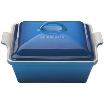 Le Creuset Covered Square Casserole, Marseille Blue