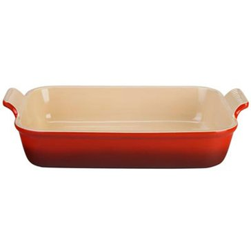 Le Creuset Rectangle Dish, Cerise
