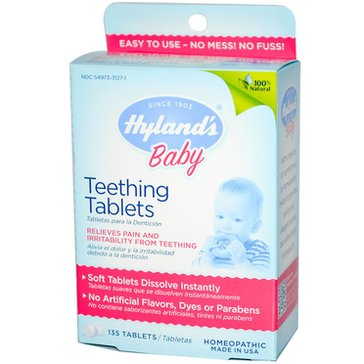Hyland's Baby Teething Tablets 135-Count