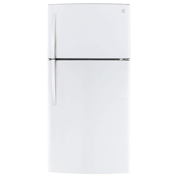 Kenmore 23.8-Cu.Ft. Top-Freezer Refrigerator w/ Internal Water Dispenser, White (46-79432)