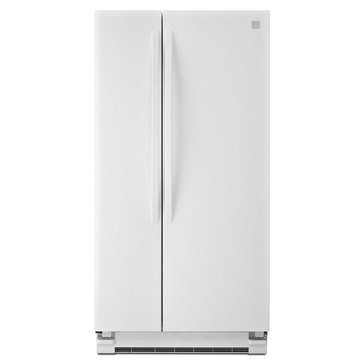 Kenmore 21.5-Cu.Ft. Side-by-Side Refrigerator, White (46-41122)