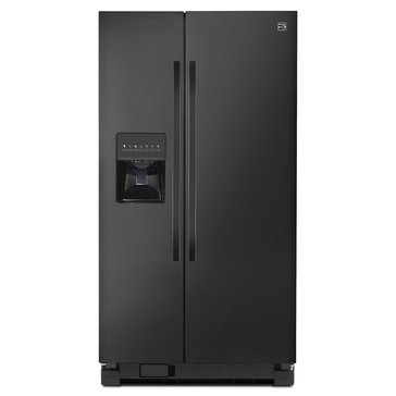 Kenmore 25-Cu.Ft. Side-by-Side Refrigerator, Black (46-51129)