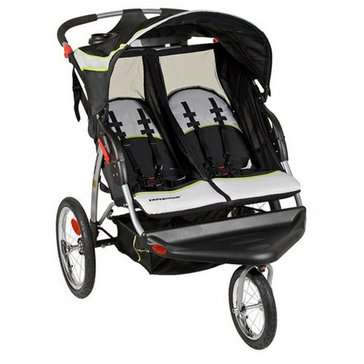 Baby Trend Expedition Double Jogger, Green Tea