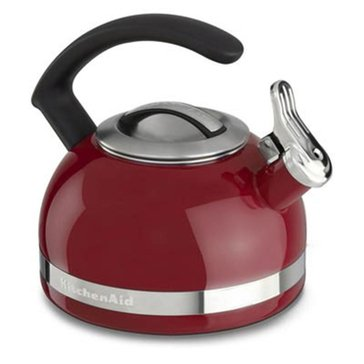 KitchenAid 2-Quart Tea Kettle With C Handle And Trim Band - Empire Red