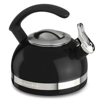 KitchenAid 2-Quart Tea Kettle With C Handle And Trim Band - Onyx Black