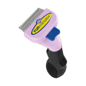 Furminator Shorthair Deshedding Tool for Small Cats