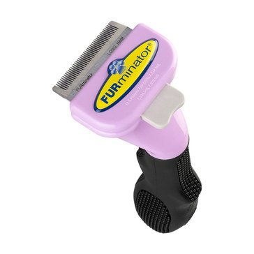 Furminator Long Hair Deshedding Tool for Cats, Small