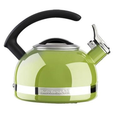 KitchenAid 2-Quart Tea Kettle With C Handle And Trim Band - Sunkissed Lime