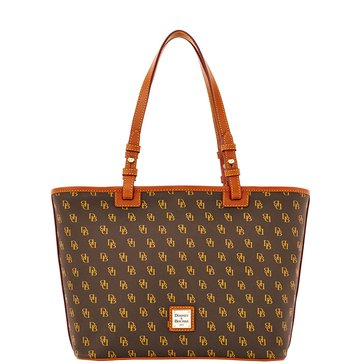 Dooney & Bourke Gretta Small Leisure Shopper - Brown T'Moro