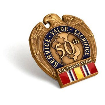 Northwest Territorial Mint Vietnam 50th-Era Veteran Pin