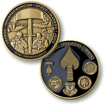US Special Operations Command Coin