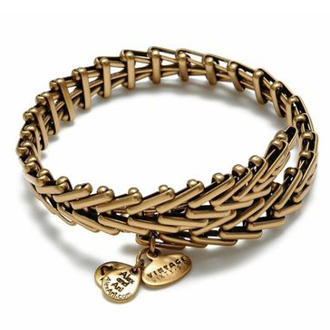 Alex and Ani Gypsy 66 Expandable Wrap, Gold Finish